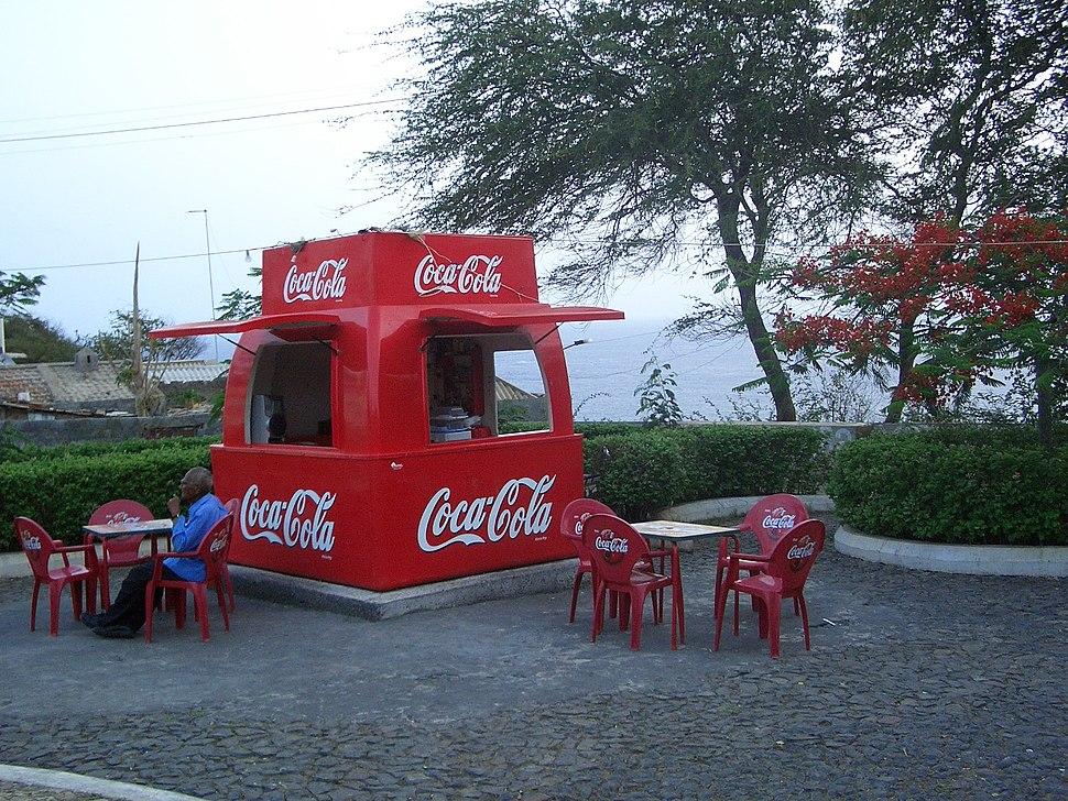 Cabo Verde Fogo CokeBooth