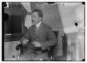 Luis Cabrera Lobato - Cabrera in 1914