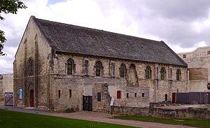 Château de Caen - Exchequer, inside the castle of Caen