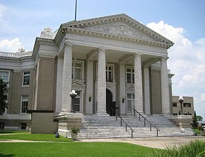 Calcasieu Parish, Louisiana - Image: Calcasieu District 14 Courthouse