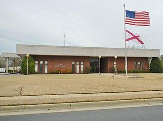 Calera, Alabama - Image: Calera, Alabama City Hall