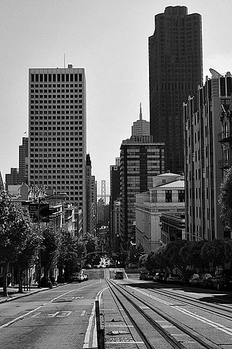 California Street (San Francisco) - California Street to Oakland Bay Bridge.
