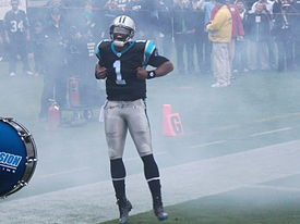 Cam Newton during the 2011 NFL season.jpg