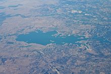 Camanche Reservoir From A320.jpg