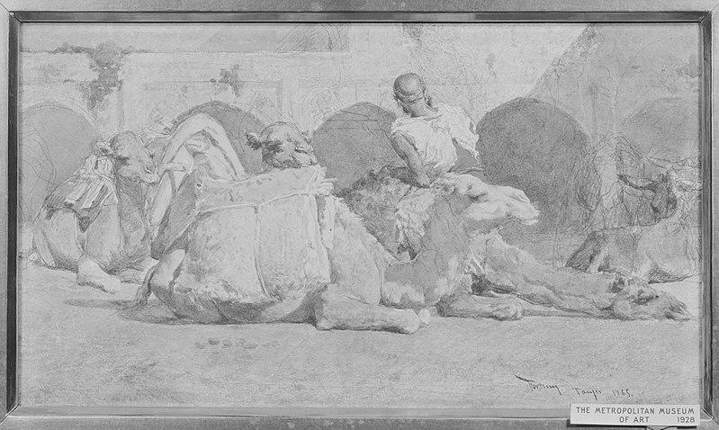 File:Camels Reposing, Tangiers MET 6.jpg