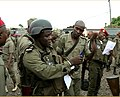 Cameroon gendarmes arrive in the English speaking town of Buea, Cameroon, January 9, 2020.jpg