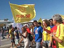 Caminhada na praia de Copacabana - PSOL (14611053534).jpg