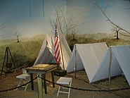 Camp Nelson tent display