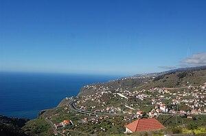 Campanário, Madeira - The semi-pastoral landscape of Quinta Grande in the parish of Campanário