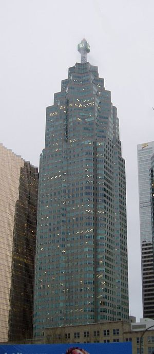 Canada Trust - Canada Trust Tower (now TD Canada Trust Tower), the headquarters of CT Financial Services until 2000