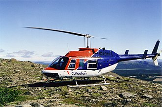 Canadian Helicopters - Image: Canadian Helicopters Bell 206LR Labrador