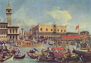 Marriage of the Sea ceremony - Image: Canaletto (II) 002