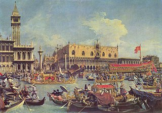 Ceremony which used to symbolize the maritime dominion of Venice