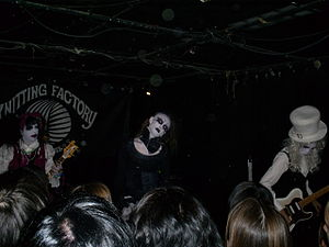 Visual kei - Image: Candy Spooky Theater Concert 024