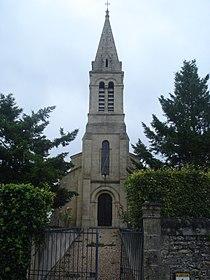 Caplong (Gironde, Fr), tour de l'église.JPG