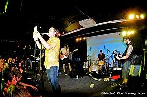 Midwest emo - Cap'n Jazz in 2010