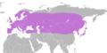Carabus violaceus distribution map.png