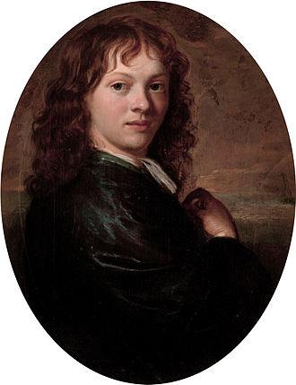 Carel de Moor - Self portrait