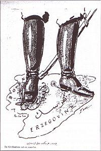 Caricature Bosnia Annexion 1909 Ion Kalem.jpg
