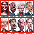 Caricatures of GOP Presidential Debate Participants September 2011.jpg
