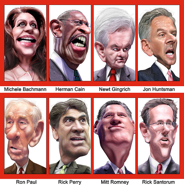 File:Caricatures of GOP Presidential Debate Participants September 2011.jpg