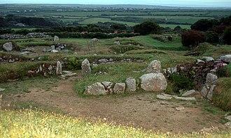 Carn Euny - Carn Euny ancient village