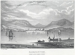 Carnarvon: from Aber-Menai ferry