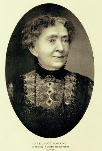 Jacob Downing - Caroline Eudora Rosecrans Downing, Representative Women of Colorado, 1914