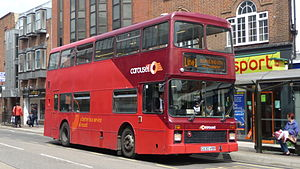 Carousel Buses - Northern Counties Palatine bodied Leyland Olympian in High Wycombe in July 2009