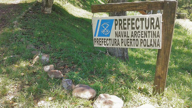 File:Cartel Colonia Polana (Provincia de Misiones, Argentina) - Prefectura Naval Argentina - Prefectura Polana (01).jpg
