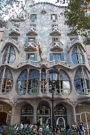 Casa Batlló - Barcellona Antoni Gaudí