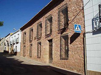 Francisco de Quevedo - Casa Quevedo in Torre de Juan Abad.