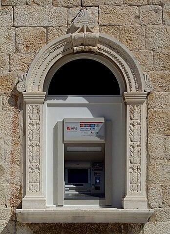 ATM in Croatia by Marcin Szala