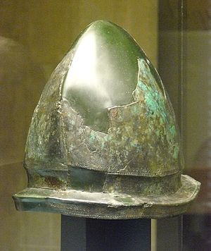 Golasecca culture - ''Negau type'' helmet from the Golasecca III period (480/450 BC).