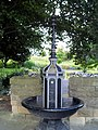 Cast iron fountain and lamp standard. - geograph.org.uk - 523256.jpg
