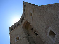 The Sforza Cesarini Castle.