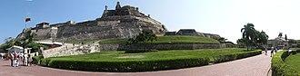 Castillo San Felipe de Barajas - Panoramic of the Castillo San Felipe de Barajas.