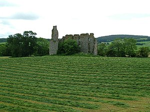 Bogniebrae - Remains of Conzie or Bognie Castle, near Bogniebrae, built in the 1660s