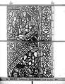 Cathédrale - Vitrail, déambulatoire au nord, saint Julien l'Hospitalier, onzième panneau, en haut - Rouen - Médiathèque de l'architecture et du patrimoine - APMH00031357.jpg