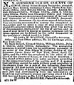 Catharine Freyenhagen (1814-1887) estate in The Brooklyn Daily Eagle of Brooklyn, New York on 24 April 1888.jpg