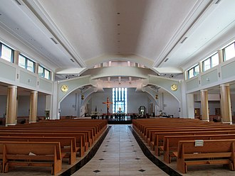 Cathedral of Saint Jude the Apostle (St. Petersburg, Florida) - Image: Cathedral of Saint Jude the Apostle interior St. Petersburg 01