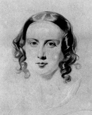 Charles Dickens - Catherine Hogarth Dickens by Samuel Lawrence (1838)