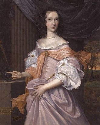 Montagu Bertie, 2nd Earl of Lindsey - Catherine Dormer (d. 1659) (John Michael Wright, 1659)