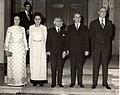 Ceaușescu family with Tsatsos family.jpg
