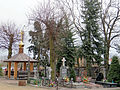 Cemetery in the courtyard of Orthodox church of the St. Mary's Birth in Bielsk Podlaski - 01.jpg