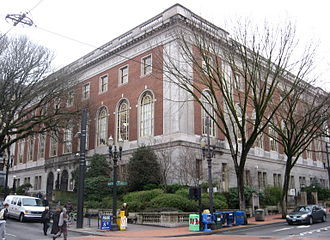 Multnomah County Library - Multnomah County central library