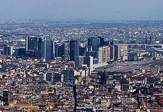 Centro Direzionale (Naples) - Aerial view of the Centro Direzionale.