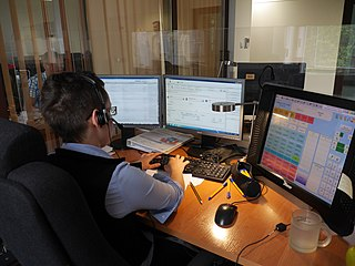 Public safety answering point call center operated by the local government for emergency phone calls