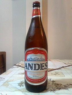Cerveza Andes - Wikipedia, la enciclopedia libre