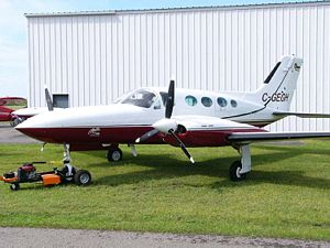 Cessna 421 - Cessna 421B Golden Eagle with aftermarket RAM-modified engines